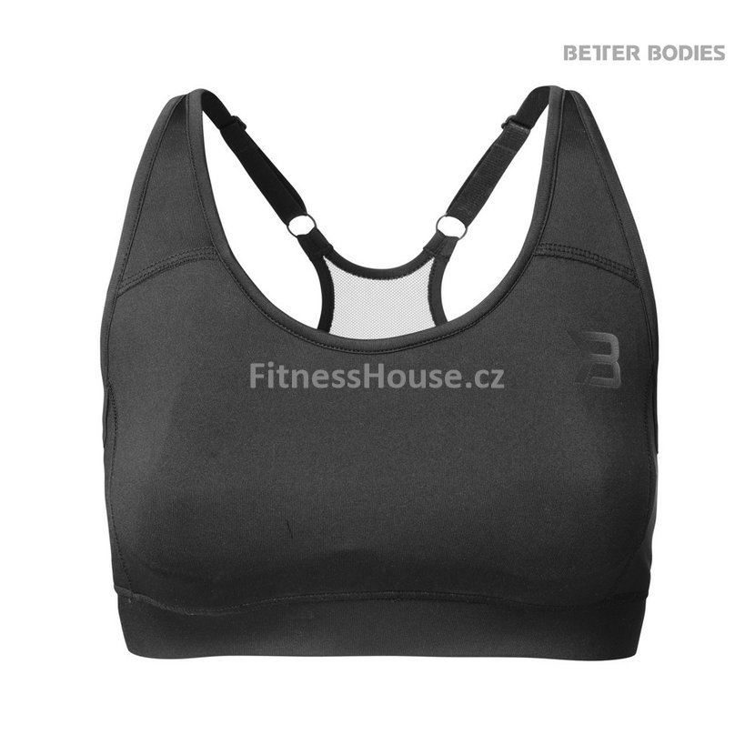 2d110e6f2 Better Bodies SPORTS BRA BLACK – sportovní podprsenka Better Bodies ...