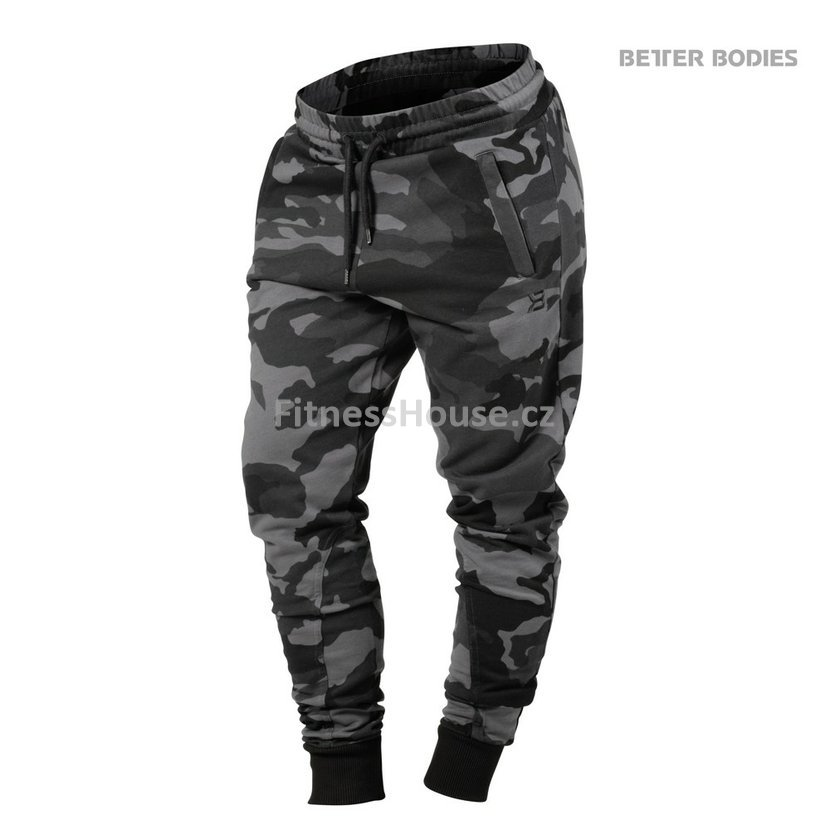 Better Bodies JOGGER SWEATPANTS DARK CAMO – tepláky Better Bodies ... 47675e70e0